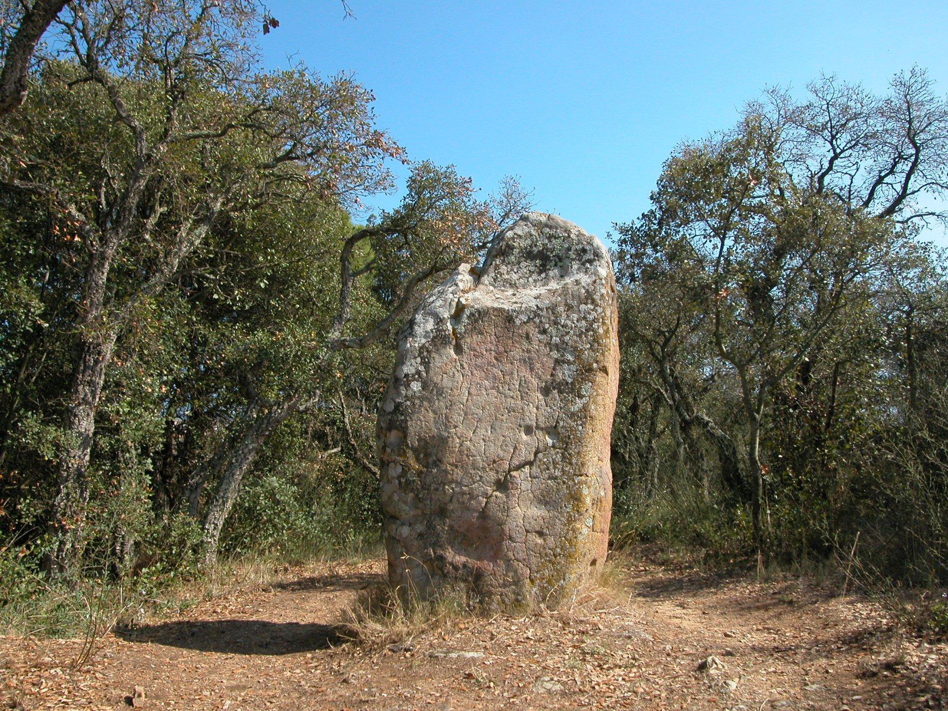 Menhir de Puig ses Forques (Calonge)