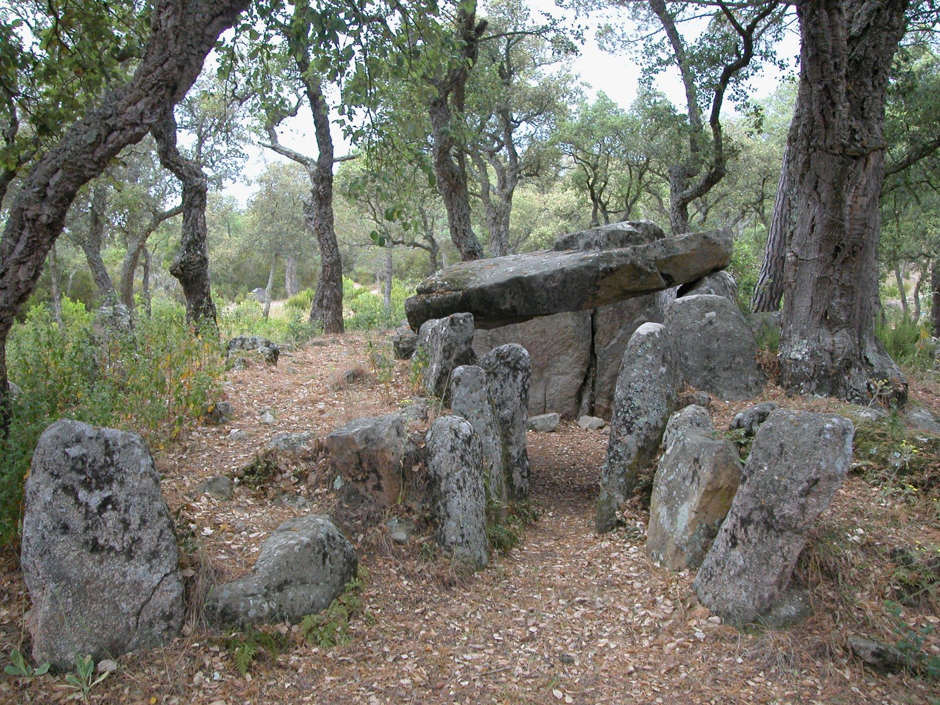Dolmen del Mas Bouserenys (Santa Cristina))