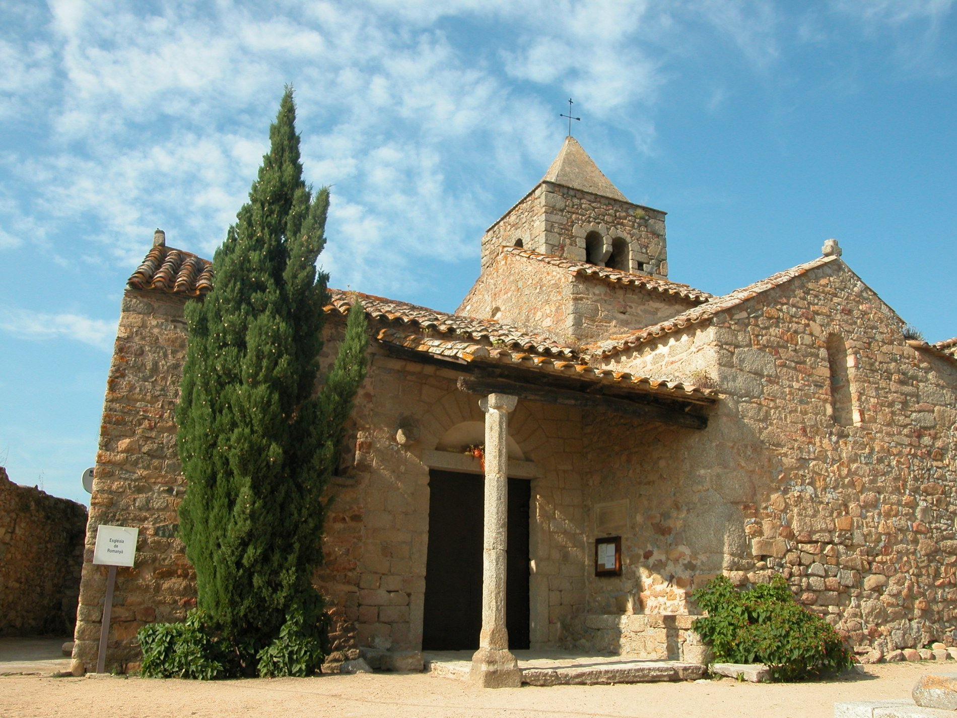 Sant Martí de Romanyà. Santa Cristina d'Aro