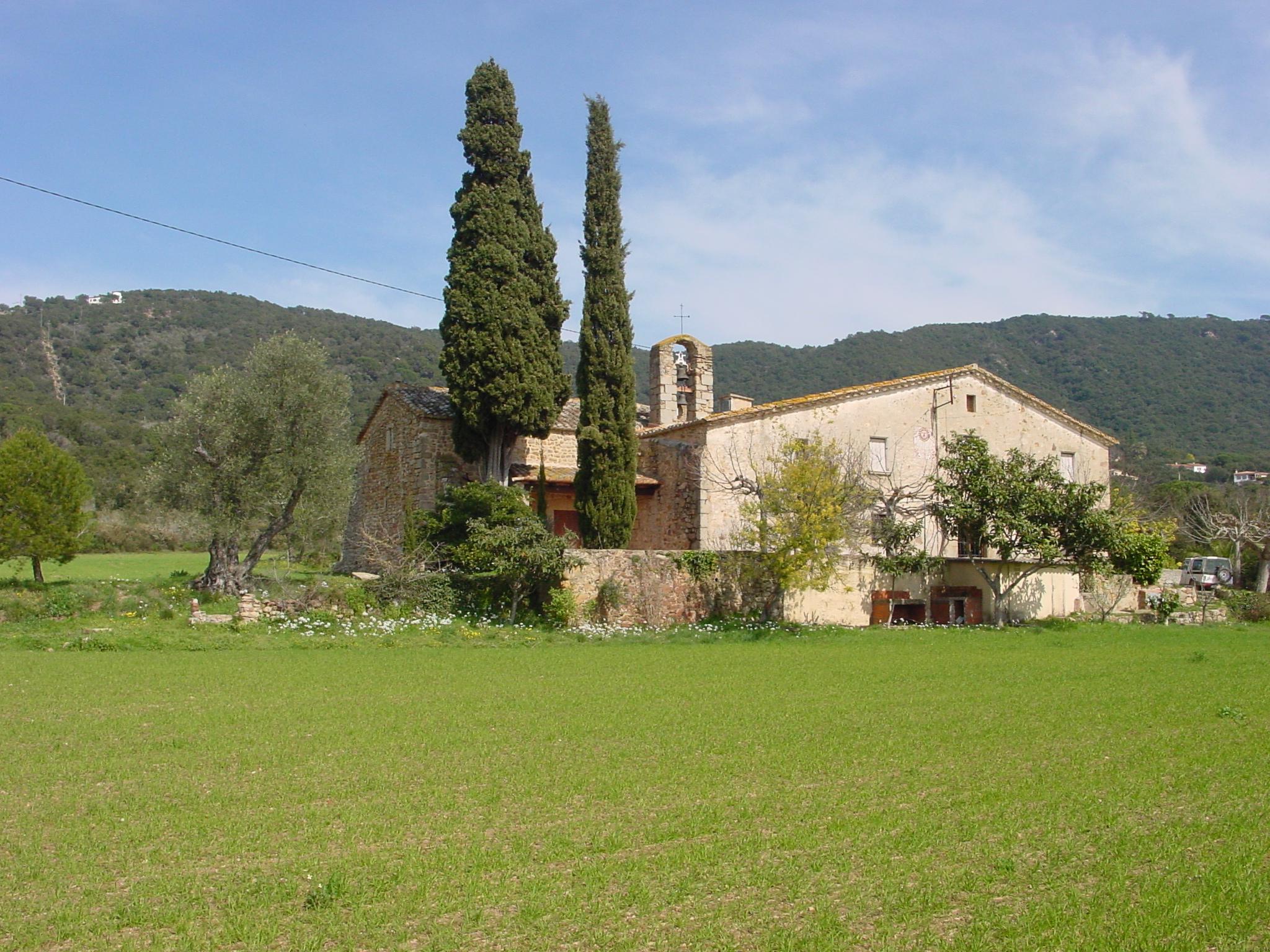 Bell-lloc d'Aro. Santa Cristina d'Aro