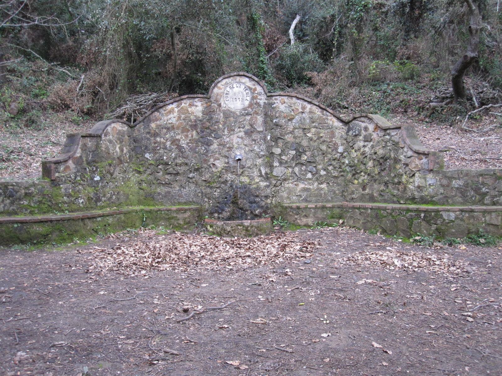 Font de la Teula (Palafrugell)