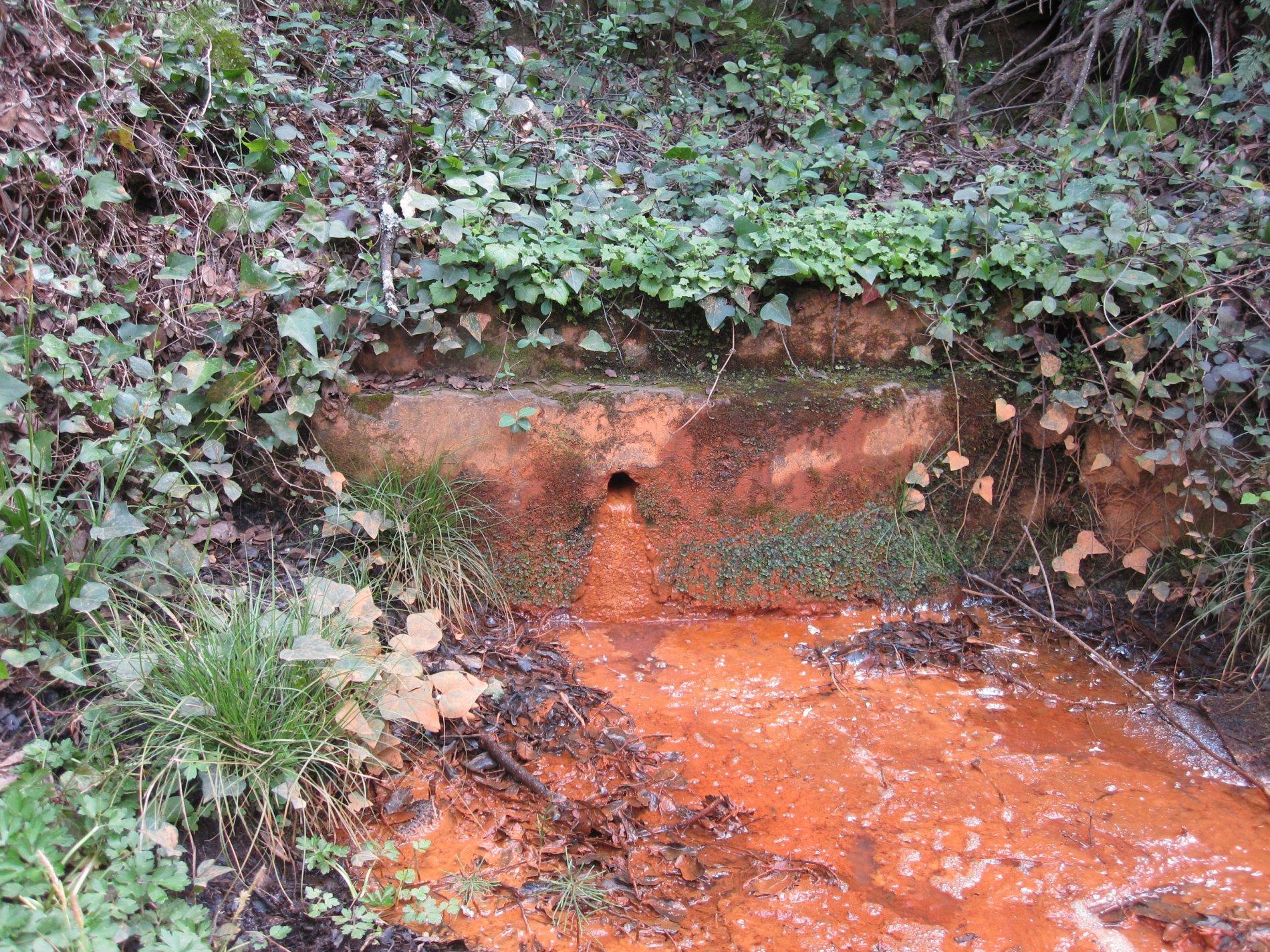 En el camí del Jonquet anant de Fonteta a Fitor, trobem la Font d'en Plaja. És una font ferrosa com ho denota tot el precipitat en tons vermells i taronges que tenyeix tot el camí que fa l'aigua. El bassal de davant del broc es veu tot completament de color taronja.