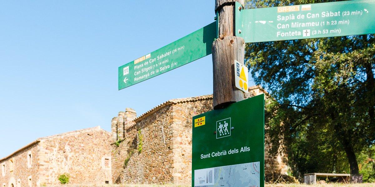 Senyalització de Sant Cebrià