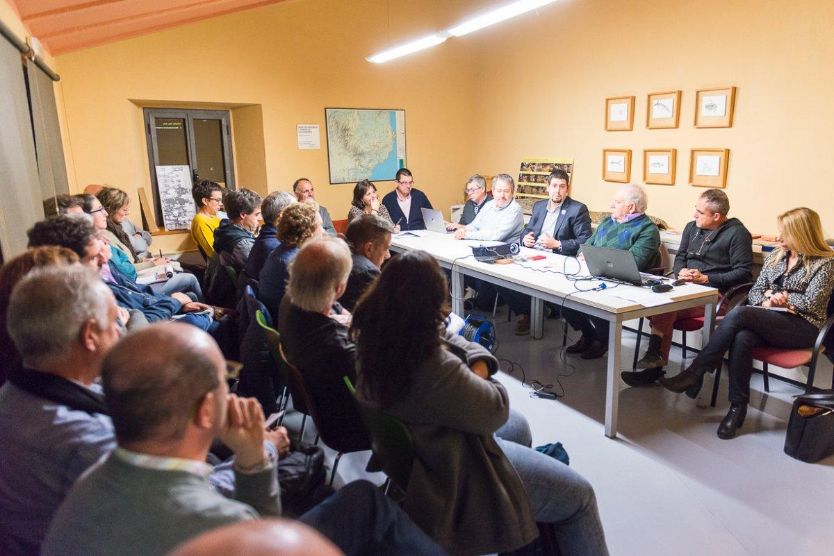 Fotografia del consell plenari