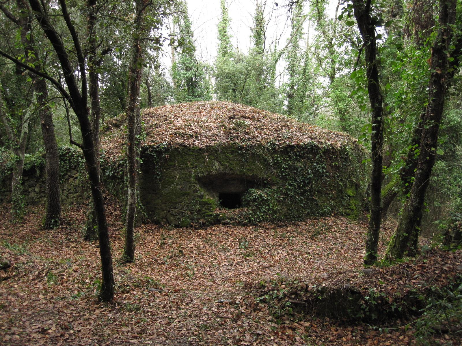 Pou de glaç cobert de la Font d'en Salomó, Sant Pol. (La Bisbal d'Empordà)